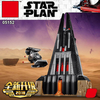 DHL lepining 05152 Star War Darth Vader Castle Set Building Blocks Brick Assembled Toys Christmas Gifts Compatible With