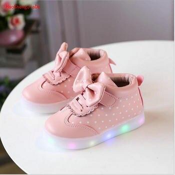 ee0bd5074eff 2018 nuevos zapatos de primavera para niños, zapatos deportivos para niñas,  zapatos cómodos para bebés 1-7 años