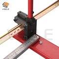 Cortador de carril din multifunción, herramienta de corte de carril din, fácil corte con medidor de medida