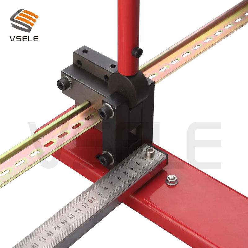 multifuntional din rail cutter, din rail cutting tool, easy cut with measure gauge-in Knives from Tools    1