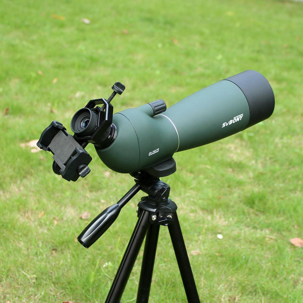 Svbone SV28 50/60/70mm longue-vue Zoom télescope étanche montre à oiseaux chasse monoculaire et universel adaptateur de téléphone MountF9308 - 5