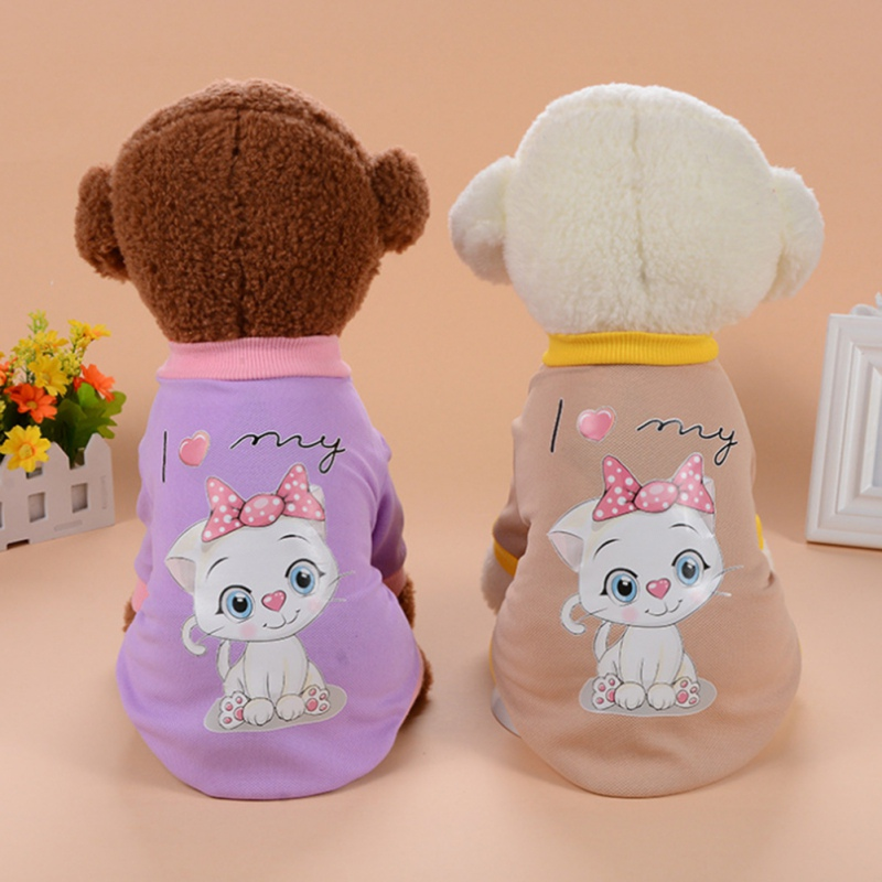 Clothes Puppy Cat Sweater Suits Coats Clothes Pet Coat Dog for Summer Spring Dog Supplies Sweater Accessories XS-XL Y6
