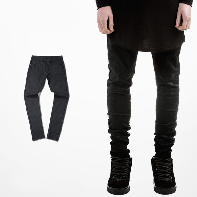 Aliexpress.com : Buy kanye west skinny jeans Classic Waxing All ...