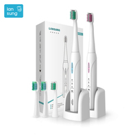 LANSUNG Toothbrush Electric Toothbrushes Sonicare 3 Mode Wireless Rechargeable Toothbushes Electric Escova De Dente Eletrica 4