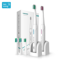 Lansung Toothbrush electric toothbrush Sonicare Rechargeable Electric Tooth Brush Escova De Dente Eletrica Oral Hygiene brush  4