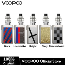 Original VOOPOO ALPHA Zip Mod Box Vape Kit 180W 4ml MAAT Tank Atomizer Vape No Dual 18650 Battery Electronic Cigarette Vaporizer стоимость