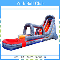 Free Shipping Commercial Giant Inflatable Water Slide for Adult Large Inflatable Pool Slide