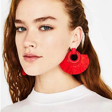 2019 Tin Alloy Special Offer Limited Earings Earing Tassel Earrings For Women Big Drop Bohemia Fashion Jewelry 2019new