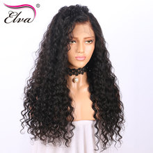 Elva Hair Lace Front Human Hair Wigs For Black Women Curly Wig Brazilian Remy Hair Wigs With Baby Hair Pre Plucked Hairline