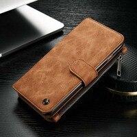 CaseMe Original New For Apple Iphone 6plus 6splus Case 2 In 1 Genuine Leather Wallet Bag