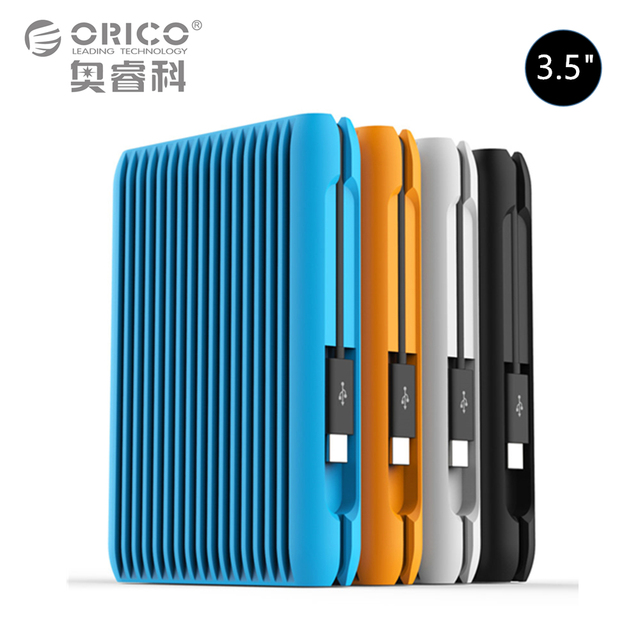 ORICO 1/2/3/4 TB USB3.1 Gen2 TYPE-C 3.5 In 10Gbps High-Speed Shockproof External Hard Drives HDD Desktop Laptop Mobile Hard Disk