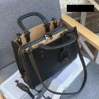 2017 Large Capacity Shoulder Female Bag PU Women Totes Bag Stylish Elegant Women Handbag Vintage Retro