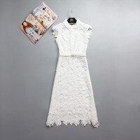 2014 Fashion Spring And Summer Women S T Ruslana Korshunova Crotch Cutout Full Dress Peter Pan