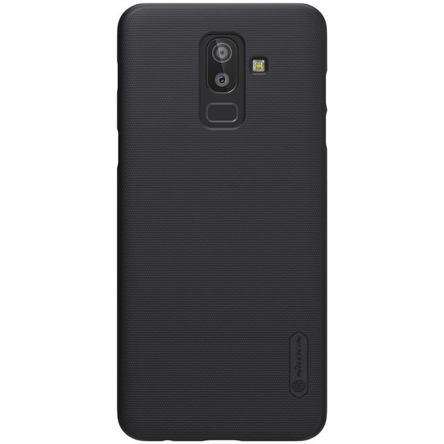 huge selection of 2ea85 45176 US $7.99 15% OFF|case for Samsung Galaxy J8 cover case NILLKIN Frosted PC  Plastic hard for samsung j8 2018 case back cover with Gift-in Fitted Cases  ...