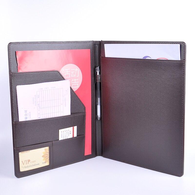 Multifunctional folder a4  folder imitation leather loose-leaf customizeMultifunctional folder a4  folder imitation leather loose-leaf customize