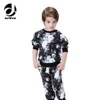 2018 brand Children Clothing Set Kids Outfits Kid Autumn Winter Suit Boy Set Ensemble Enfant Garcon Kids Clothes