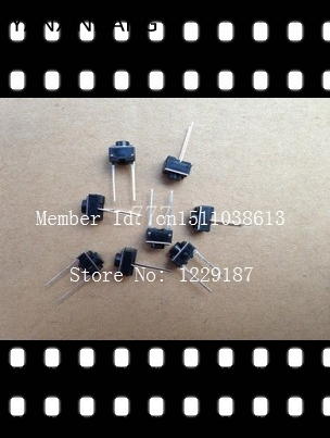 New original 1000PCS 2 pins 6*6*5 mm Switch Tactile Push Button Switches 6x6x5mm