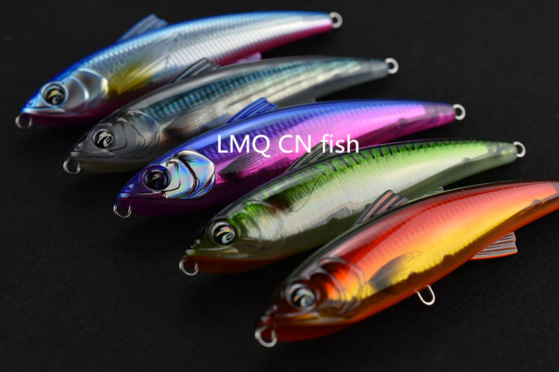 180mm 82g Fishing Lure Gt Popper pencil poppiong lure game lure floating pencil fishing lure sea fishing