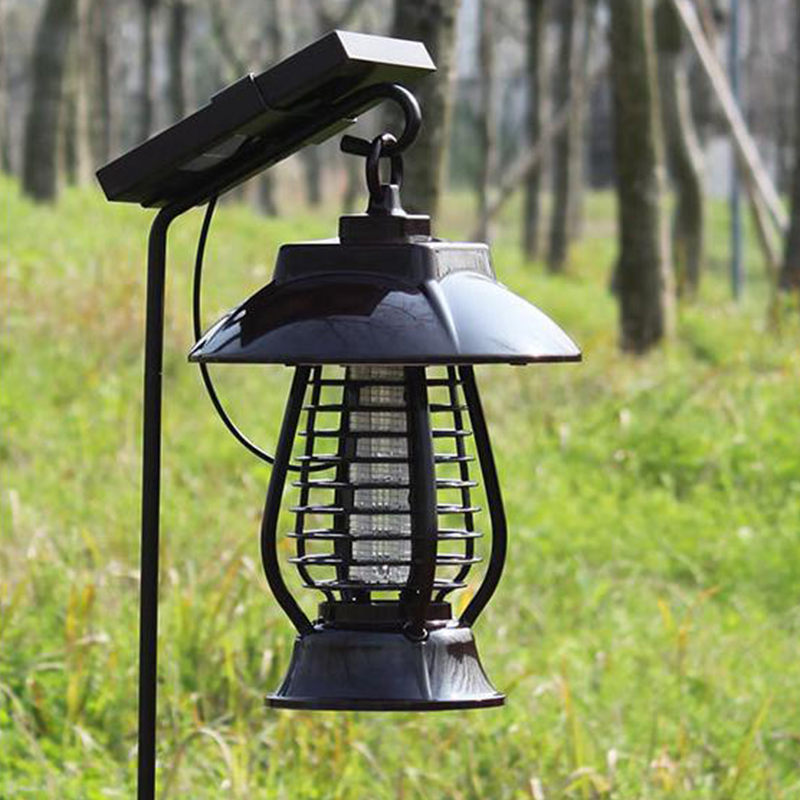 Solar Energy Mosquito Killer Light Mosquito Repeller Light Insect Killing Lamp For Gardens Outdoor Places Pest Reject ultrasonic electronic pest repeller indoor outdoor mosquito killer