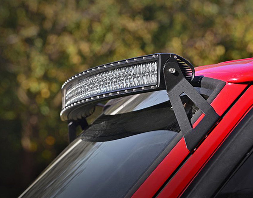 Dedc car offroad upper windshield mounts 50 inch curved led light dedc car offroad upper windshield mounts 50 inch curved led light bar work light roof mounting brackets aloadofball Image collections