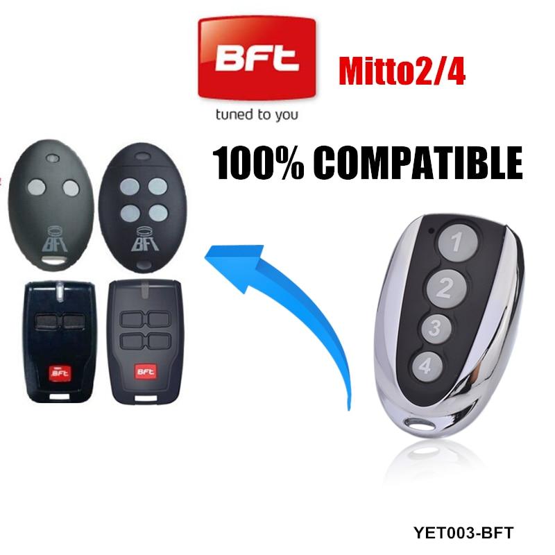 Fernbedienung gate-opener BFT MITTO2/ /MITTO2/M 2/Kan/äle 433/MHz Rolling Code