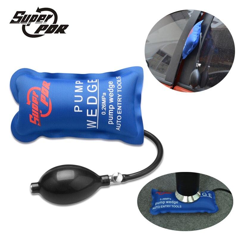 Super PDR Tools Pump Wedge Locksmith Tools Auto Air Wedge Airbag Lock Pick Set Open Car Door Lock Hand Tools 19.3cm*11.3cm