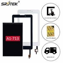 """Srjtek 7 """"für acer iconia tab 7 a1-713 a1-713hd lcd display touchscreen digitizer glasscheibe sensor tablet ersatzteile"""