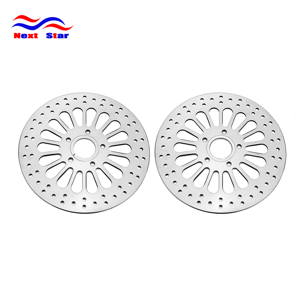 11.8Front Rear Brake Discs Rotors Kit For Harely TOURING SOFTAIL SPORTSTER DYNA MODELS 1984 1985 1986 1987 1988 1989 1990-2013