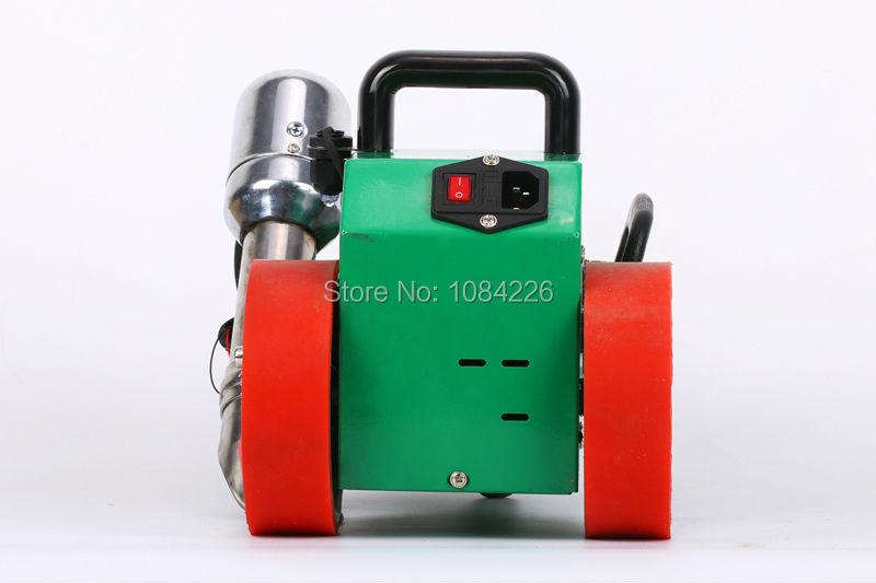 Manufacture pvc flex banner pe pp sheet welding machine for hot air seam sealing