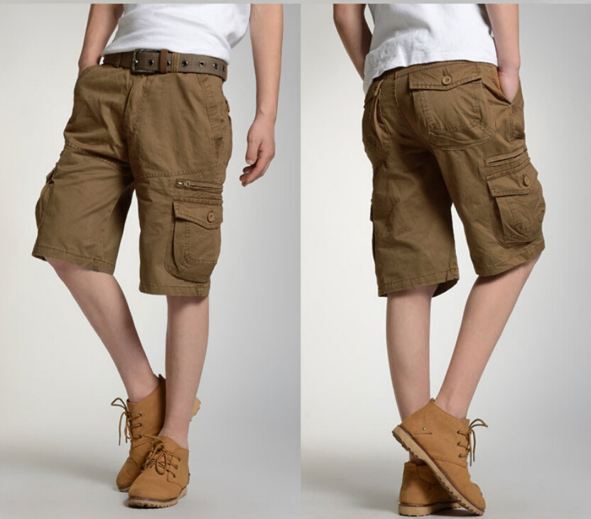 cargo pant shorts - Pi Pants