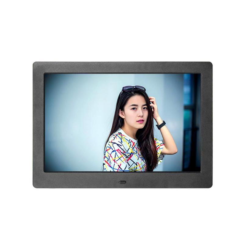 Digital Photo Frame 10inch HD IPS Screen 1280x800 Electronic Photo Frame Support Music Video MP3 MP4 Movie Player High Quality adroit high quality 10inch hd 16 9 digital photo frame picture album mp4 video player remote control 30s61122 drop shipping
