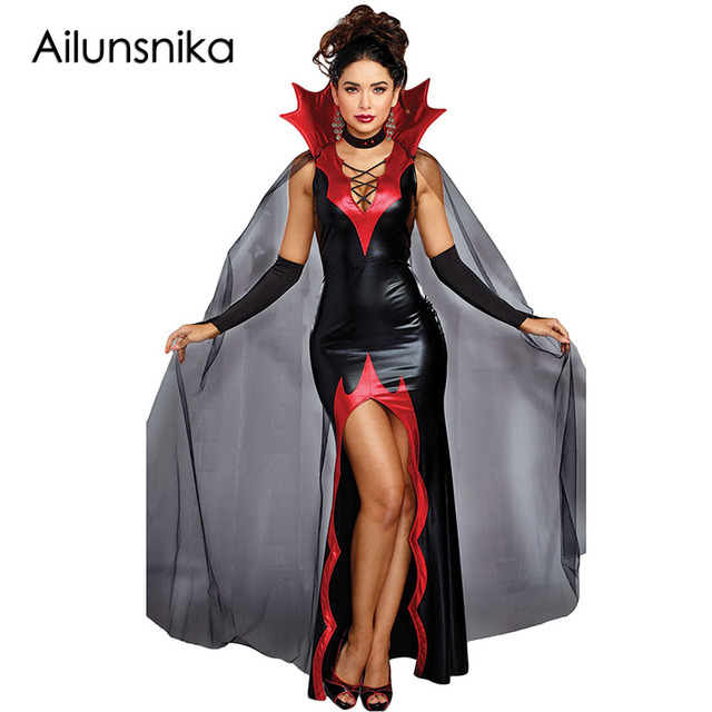 Ailunsnika 2 PCS Dissolute Killing It Halloween Costume Red Spiked ...
