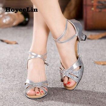 2c813f99 Zapatos de baile latino hoyeelín para mujer zapatos de baile de Tango salón  de baile Salsa tacones Sandalias Mujer Latino zapatos de baile para baile
