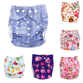 Newborn Baby Nappies Washable Cloth Diaper Soft Cotton Cloth Breathable Waterproof infant nappy diapers  037