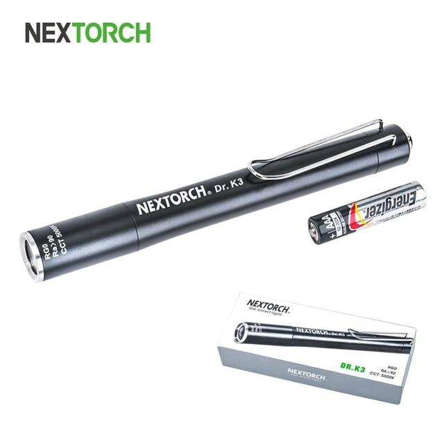 Nextorch Medische Penlight Aaa Batterij Voor Arts Stethoscoop Gezondheidszorg Verpleging Scholieren Licht # Arts K3