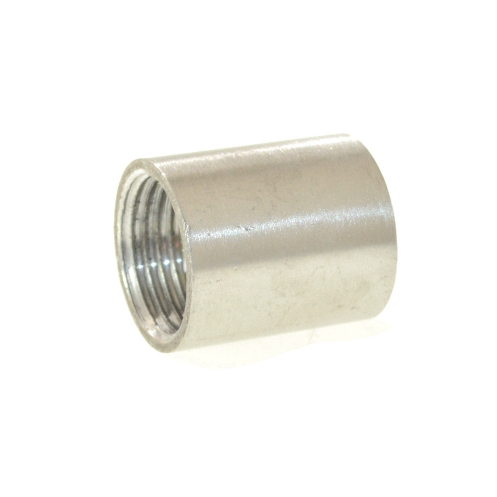304 Type Stainless Steel Female Straight  Nipple Jointer Pipe Connection Connector Fittings
