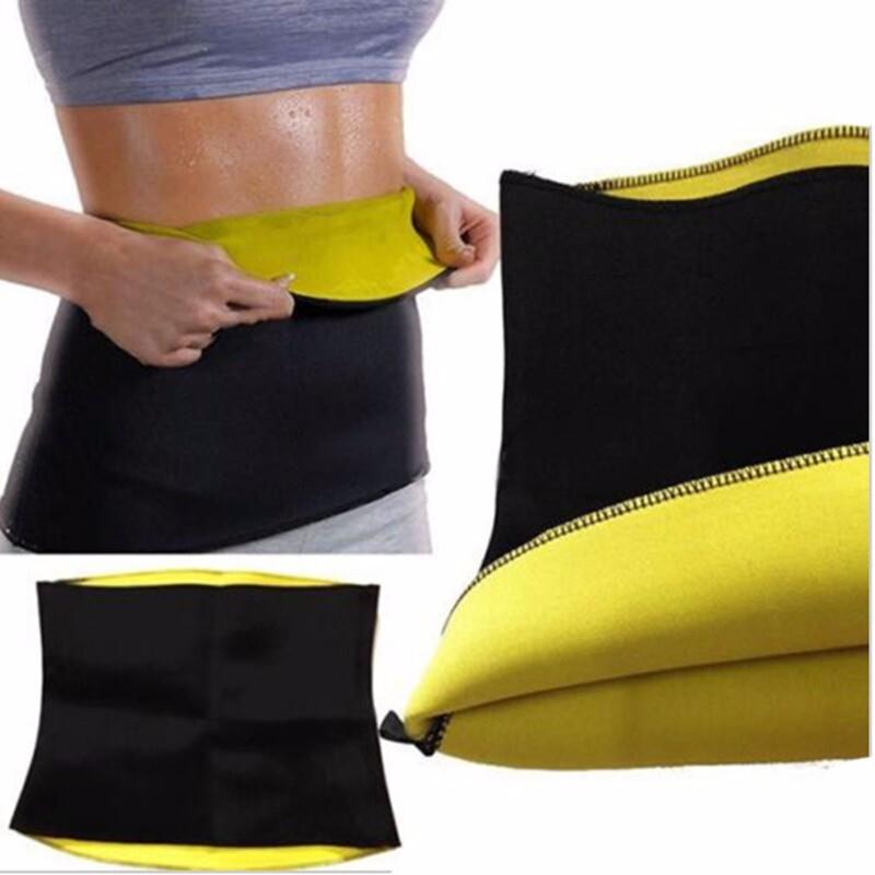 48b23b6beaf3f S-XXXL Popular Slim Belt Stretch Women Hot Neoprene Body Hot Shaper  Slimming Abdomen Belly Belt Bodysuit Waist Trainer