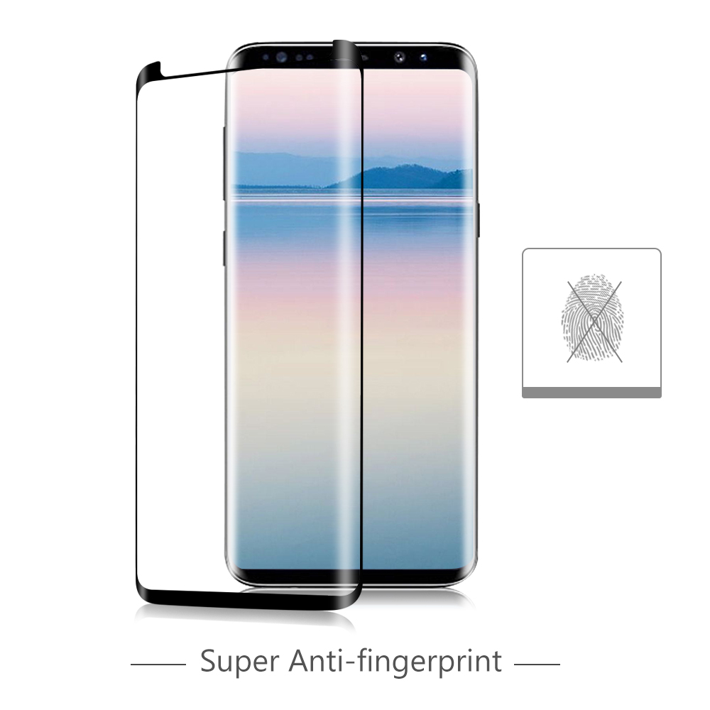 OTAO Case Friendly Tempered Glass Screen Protector Protective Film for Samsung Galaxy S9 S9+ Plus