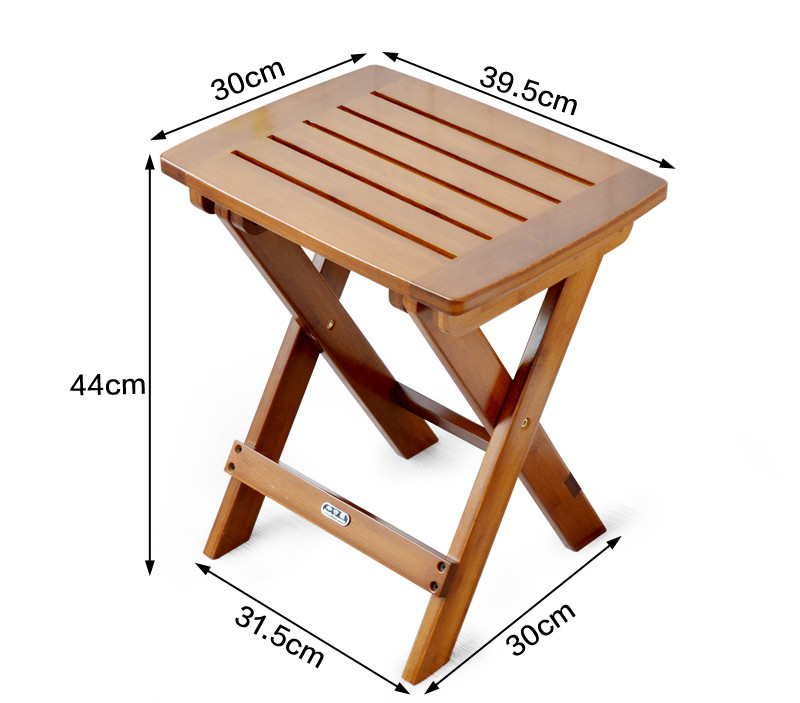 Multifunctional Bamboo Folding Stool Chair Seat For Kids Fishing Garden  Bamboo Furniture Small Portable Folding Fishing Stool In Stools U0026 Ottomans  From ...
