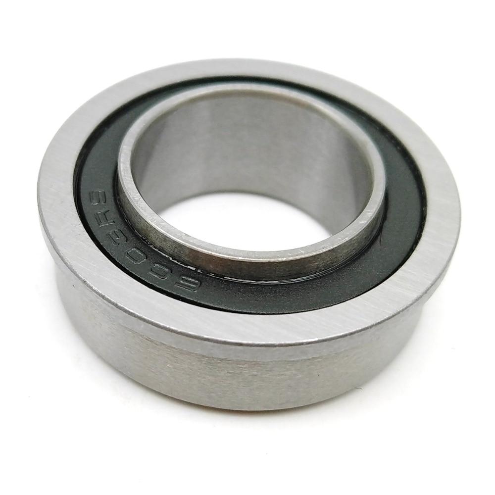 1pcs F6003 F6003-20-2RS 20x35x11 20X35X11X13 MOCHU Flange Bearing ABEC-1 Miniature Deep Groove Ball Bearing Sealed Ball Bearings frap f6003