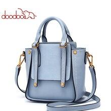 DOODOO Для женщин искусственная кожа Сумочка Роскошные Сумки Для женщин сумки дизайнерские женские плеча Crossbody сумки дамы Топ-ручка, сумка