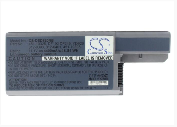 Batteries Consumer Electronics Honesty Cameron Sino 4400mah Battery For Dell Latitude D531 D820 Precision M65 312-0393 451-10308 Df192 Yd626