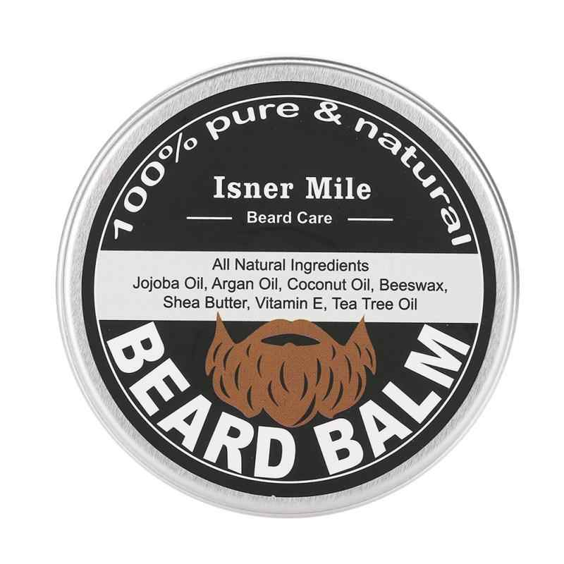 Men Beard Oil Balm Moustache Wax for Styling Smoothing