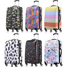 1 Piece Women Men Luggage Suitcase 20 24 28 Hard Shell ABS PC Hardside Spinner Rolling Suitcase 4 Wheels Spinner Trolley Bag