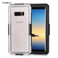 Waterproof Case For Samsung Galaxy Note 8 Hybrid Swimming Diving Skiing Water Shock Proof Back Cover