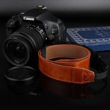 PU кожаный ремешок для камеры шеи переноска на плече для Canon 200D 1500D 700D 650D 77D 6D 7D 5D Mark II III IV 1100D 750D 800D 80D