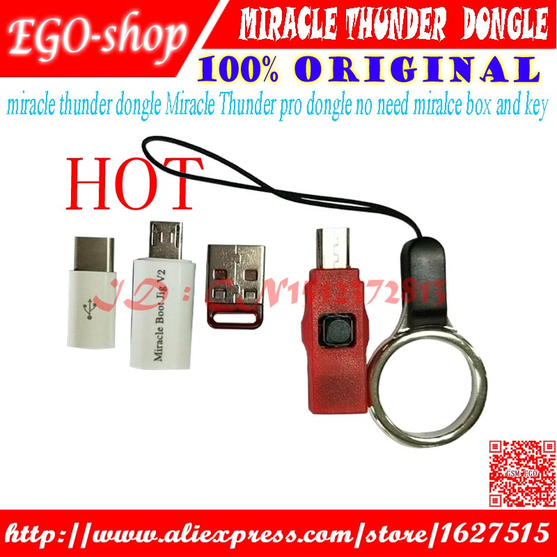 Gsmjustoncct miracle thunder câble pro dongle pas besoin miralce boîte clé