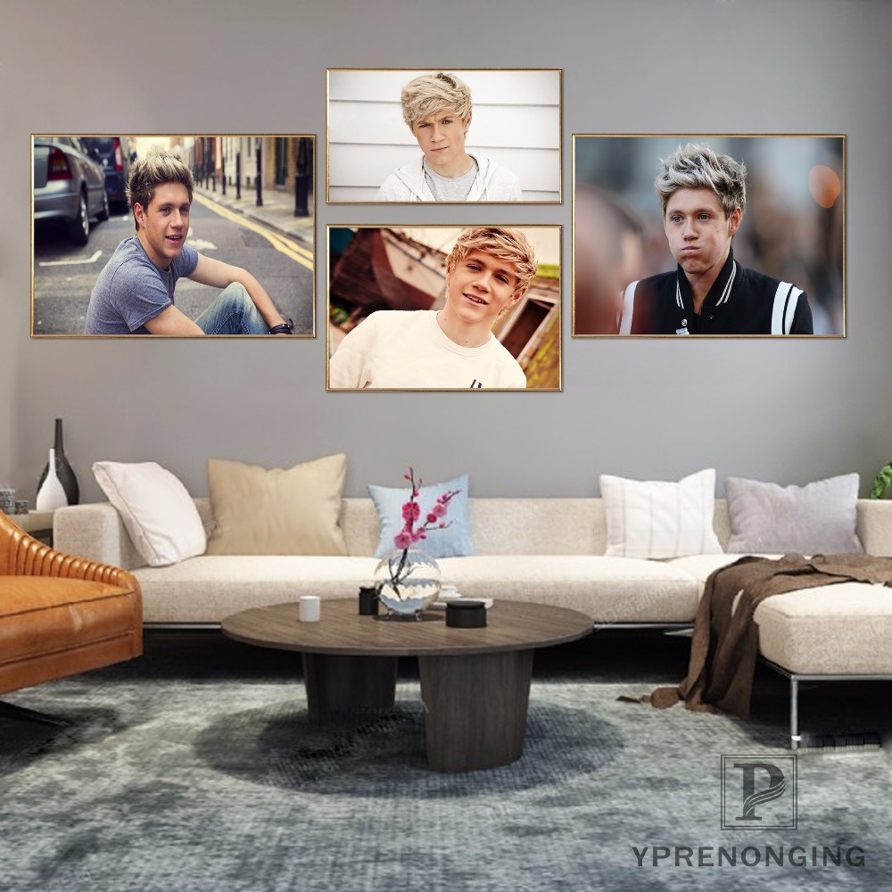 Custom One Direction Poster Art Home Decor Canvas Printing Silk Fabric Print Wall Poster No Frame 180317@25