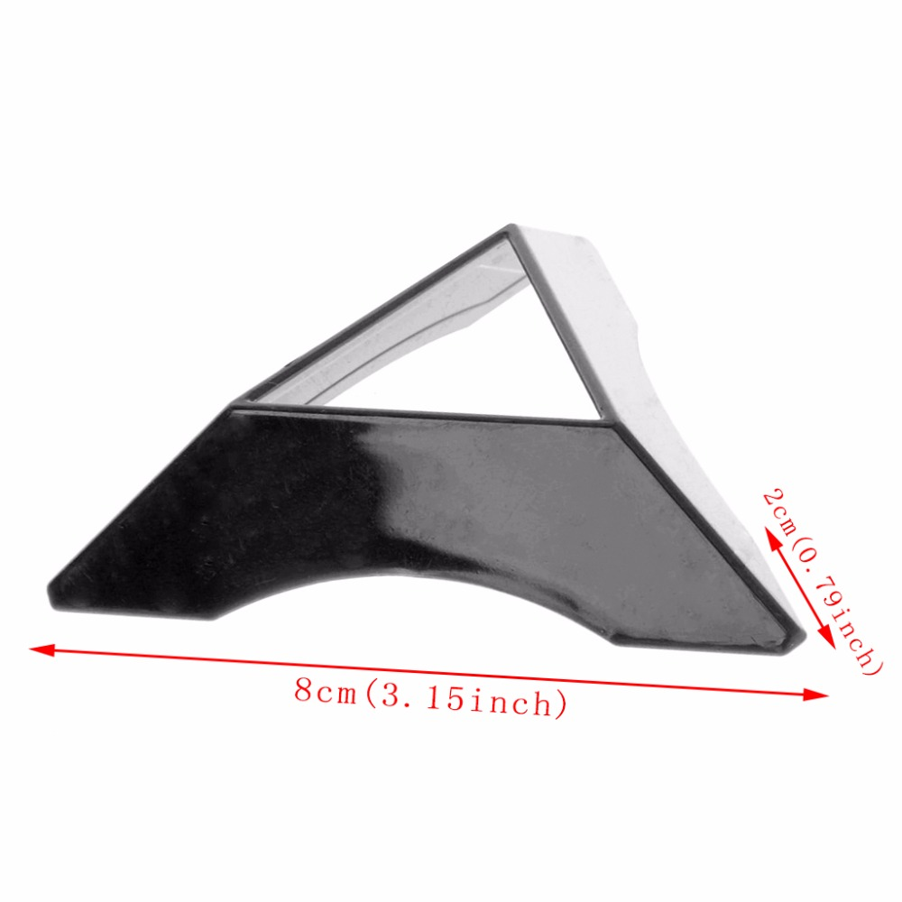 Black 1PC Magic Cube Display Stand ABS Triangle Base Lightweight White
