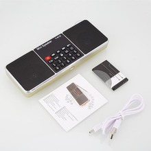 NEW Portable Digital FM Radio Stereo Audio Speaker High Quality MP3 Music Player USB AUX TF Slot